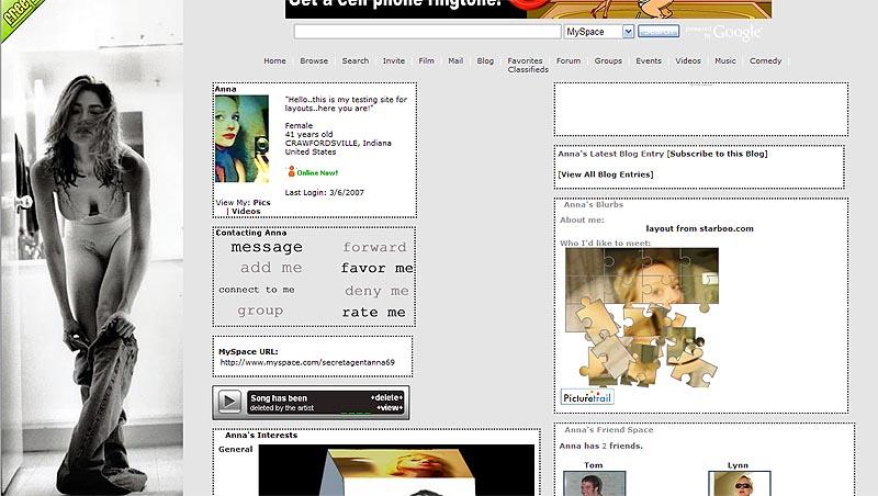 Myspace Adult Layouts 116